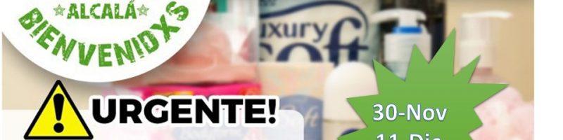 Campaña de recogida de material de higiene